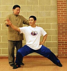 Master Chen & my Shfu