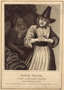 NPG D29220; Anna Trapnel after Richard Gaywood