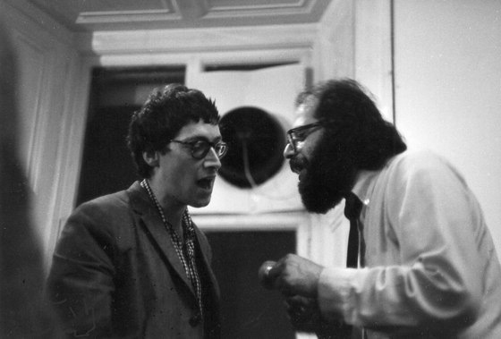 Couldn't resist popping in this shot! Not related to the project but of the time!! Michael Horovitz & Allen Allen Ginsberg. Photography  by  Peter Whitehead
