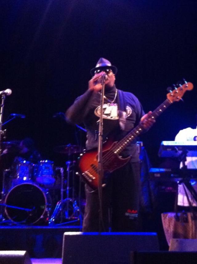 Trouble Funk's 'Big Tony ' Fisher