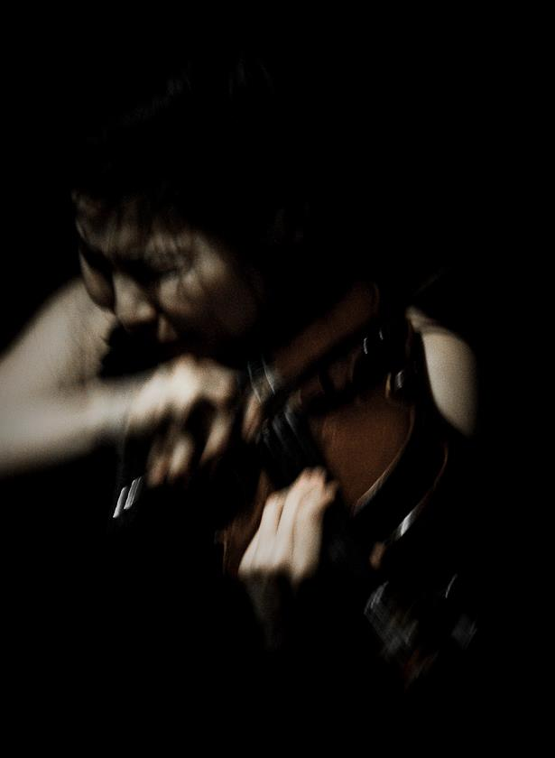 Satoko Fukada with Black Top @ Cafe Oto . Photography by Nadjib Le Fleurier