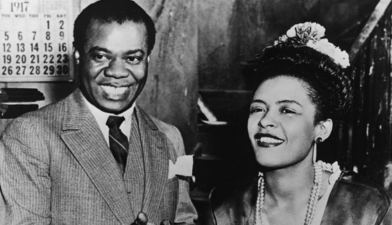 Lous Armstrong & Billie Holiday