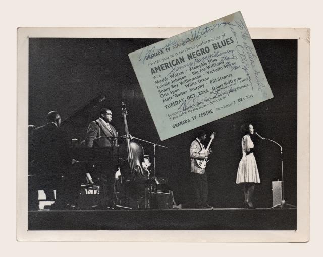 Blues-ticket & Photo - Brian-Smith