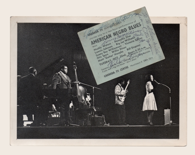 Blues-ticket & Photo - Brian-Smith