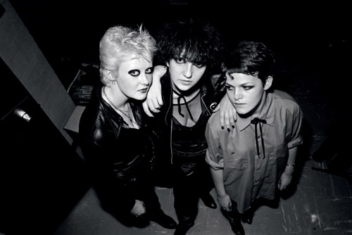 Defining Me: Musical Adventures in Manchester -  Denise, Joan and Jodie © Kevin Cummins 1977