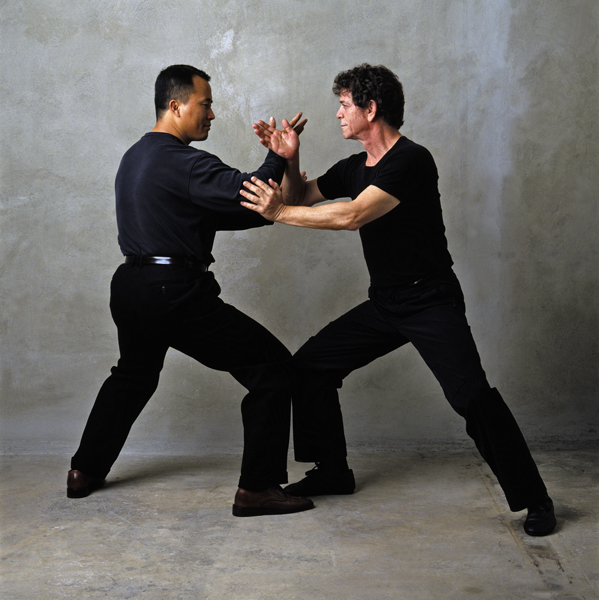 Ren Guang-yi & Lou Red push hands