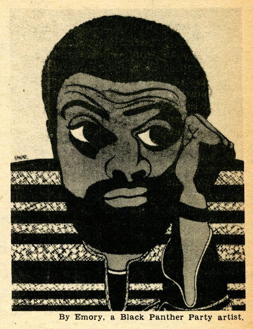 Amiri Barak by Emory Douglas