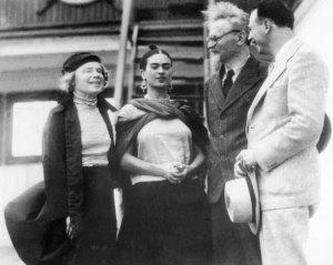 Natalia Sedova, Frida Kahlo, LeonTrotsky