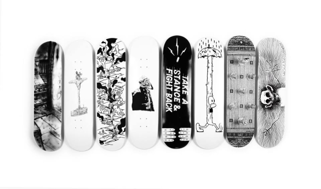Skateboards: The Auction