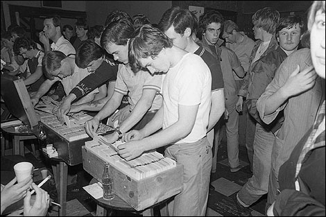 Diggin' in the crates - Wigan Casino Record Bar 1980