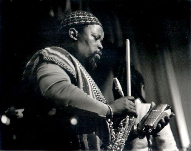 Dudu Pukwana 1938 - 1990 - Pic: Denis Dalby