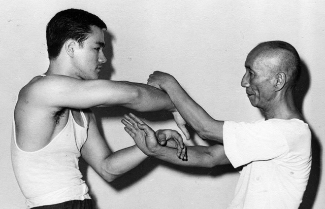 Bruce Lee & Wing Chun master Ip Man