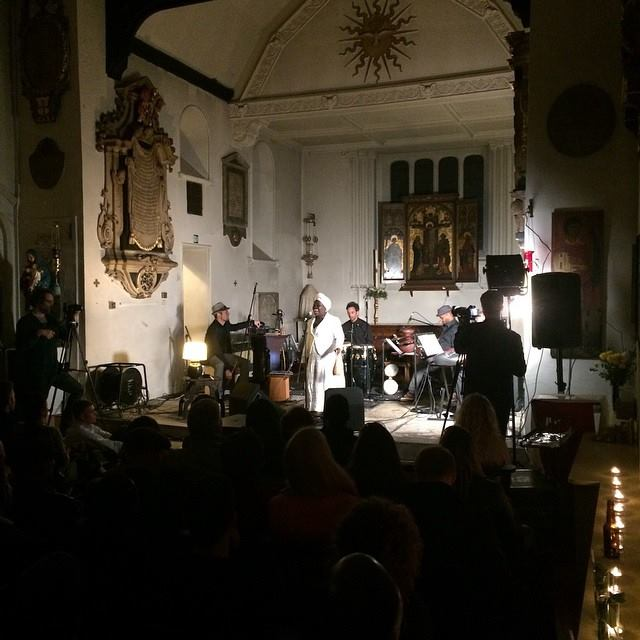 dayme arocena at st pacras old church