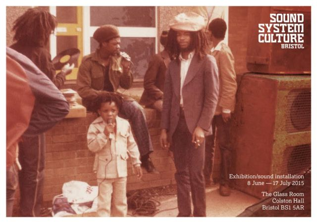 Bristol sound system culture  flyer