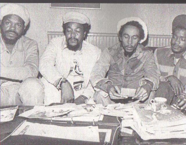 London 1977: Claudie Massop, Tony Welsh, Bob Marley, Tek Liife