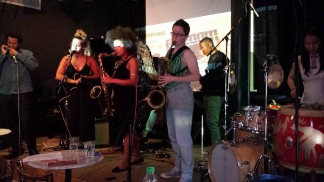 Xinicibis Ensemble - Pic: 'Big Mike' Edwards / UK Vibe