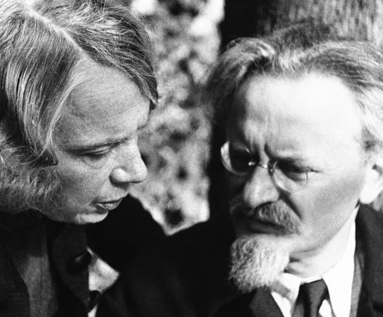 Natalia Sedova & Leon Trotsky