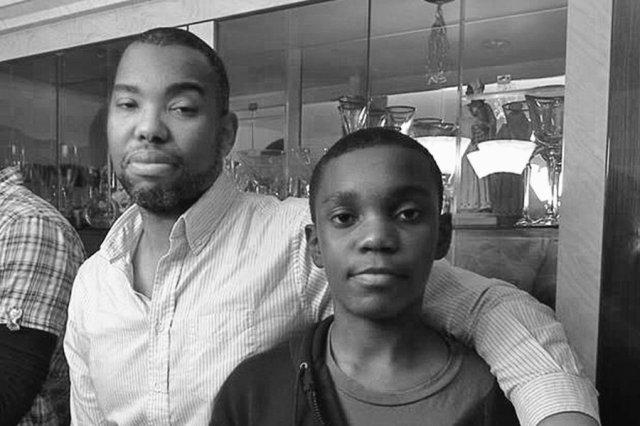 Ta-Nehisi Coates & son