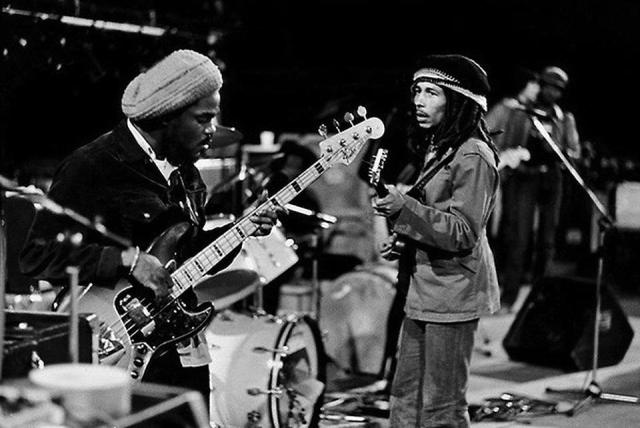 Aston 'Family Man' Barrett & Bob Marley