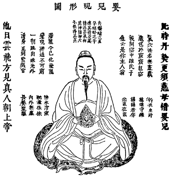 The Immortall Soul of the Daoist Adept