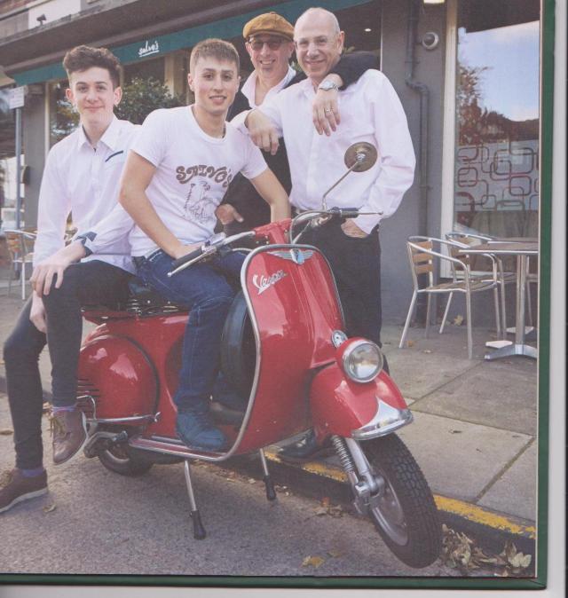 Salvos - The Boys: r to l: John, Gip & Salvo