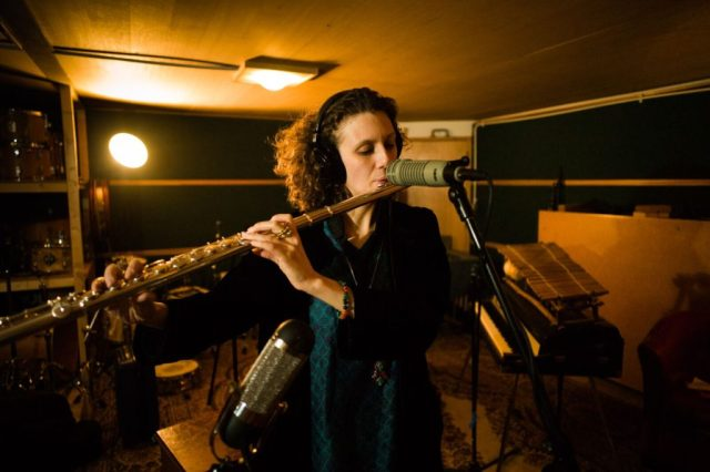 Tamar Osborn -In The Studio /The Search : Pho- Gavin Mills